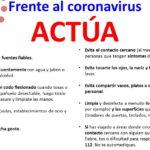 consejos frente al coronavirus